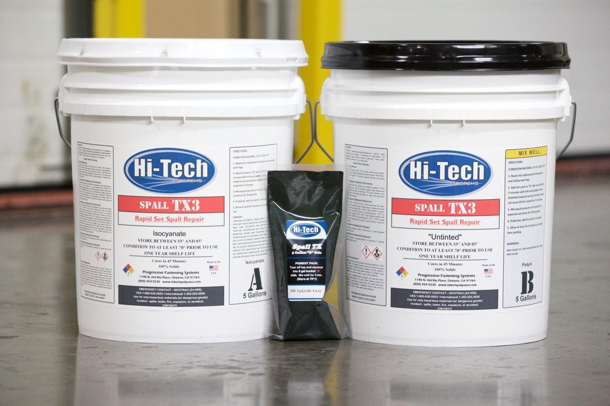 TX3, ātri cietējošs, augstas izturības zemas viskozitātes betona remonta materiāls